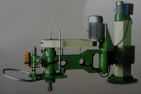 manual hand polishing machine, swing arm grinder, radial arm slab polishing machine