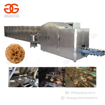 Fast Speed Commercial Ice Cream Cone Rolling Maker Machine To Sugar Cones For Sale