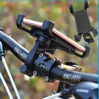 360 Degree Rotating Mountain Road Bike Bicycle Phone Holder Stand Mount Bracket For Galaxy Note 2