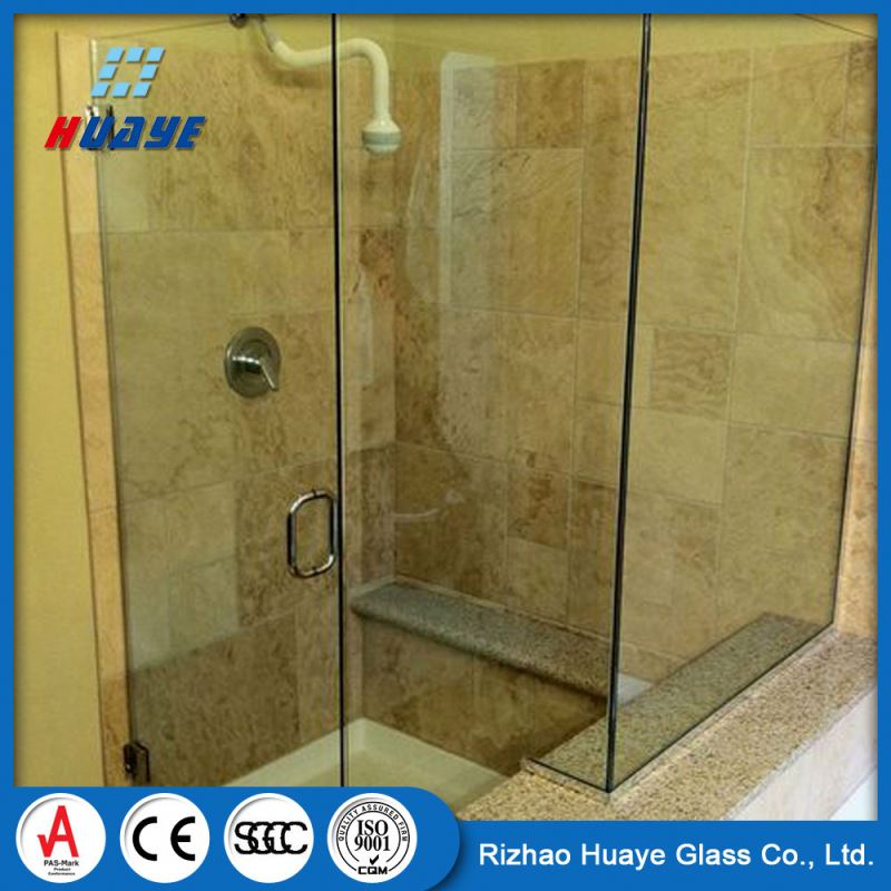 China Factory Price cheap shower glass screens