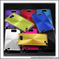 Brushed metal cases for samsung galaxy S2 I9100