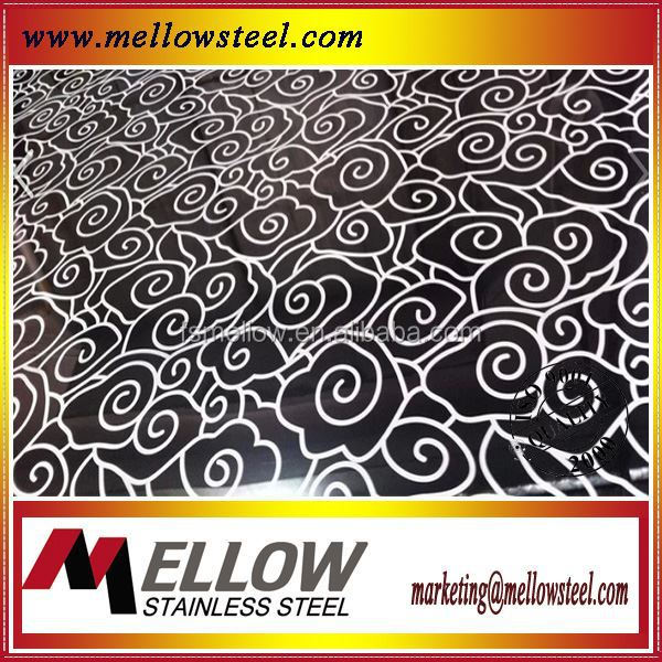 3d wall panel 201 304 color stainless steel color coating sheet