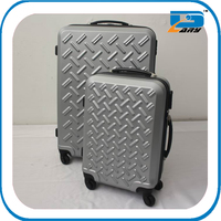 Professional latest ABS+PC full colorful printing travel trolley case