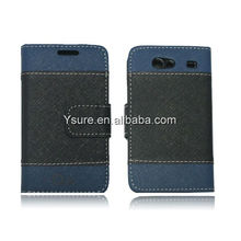 Whlesale PU and TPU silicone Case for samsung i9070 Card Holder