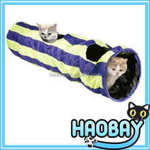 Cat Tunnel Pet Toy Cat Play Tunnel With Two Holes