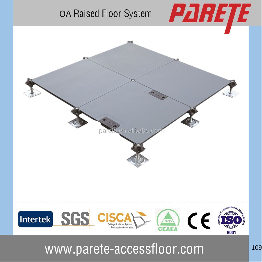 0A 500 Steel cementitious Raised floor