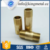China supplier 1/2 inch extension brass nipples