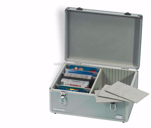 Aluminum CD DJ Postcards US Mint Locking Case