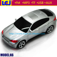 BMW X6 small wireless portable digital car subwoofer speaker