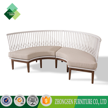 2017 Modern And Strong sofa set designs round sectional sofa set,sofa half round,half round sectional sofa for hotel lobby
