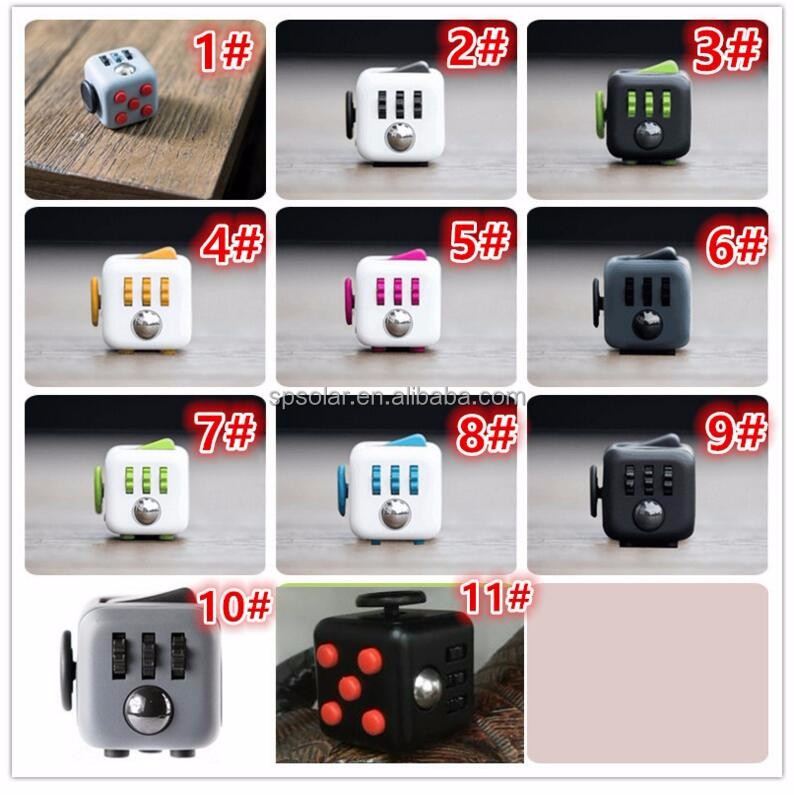Christmas Season hot selling 6-Sided Adult desk toy fidget cube for fidgeters