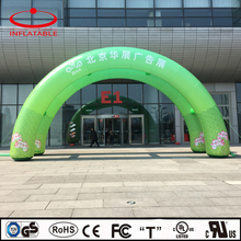 advertising inflatable double tube arch