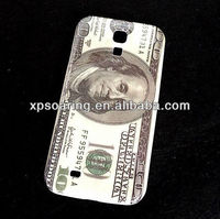 US dollar case back cover for For Samsung Galaxy S4 I9500