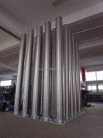 Stainless Steel LED Street Lighting Poles for Garden Traffic