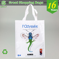 Public Promotion Durable Convention Executive Custom Metro Recycle Handle Bag