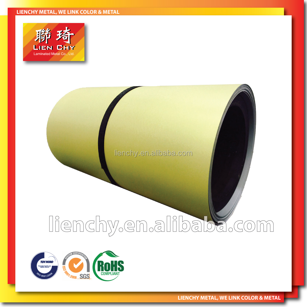 No. 1 Vinyl Coated Material VCM laminated steel PVC laminated steel Sheet