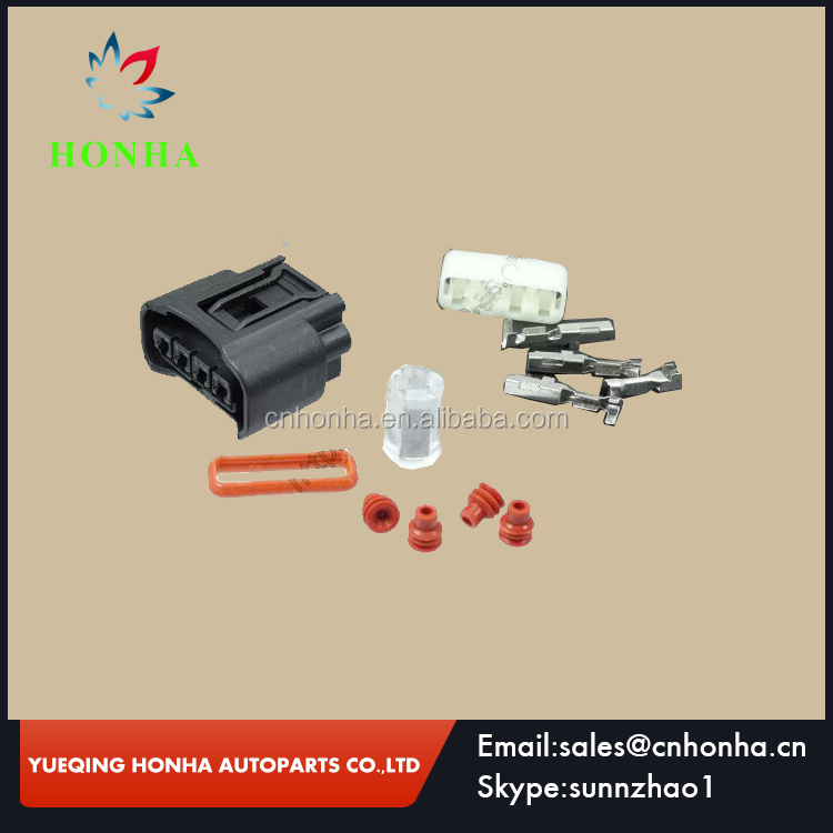 90980-12176 Toyota 4 way female high-voltage Ignition Coil Plug Connector For Reiz crown Camry corolla Vios Camry Highlander