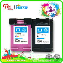 new item ink cartridge chip reset forhp 122xl invisible