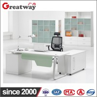 Office solid wooden counter table designs increase desk