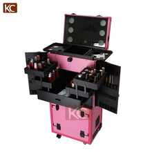 Multifuncional & Professional Modern Mobile hairdressing hair salon styling stations