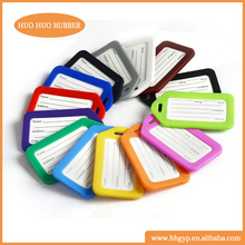 High Quality Rectangle Name ID Address Tags New Round Travel Tab Travel Bags Luggage Tag