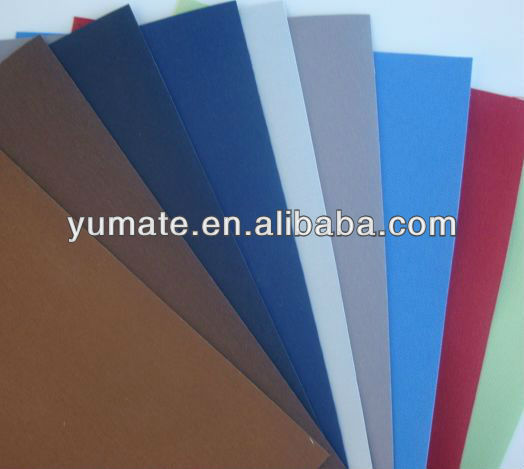 Shandong YUMA 100% polyester fabric blackout roller blind / Roller project roller fabrics