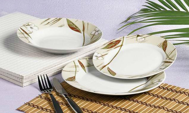 Factory ceramic and porcelain dinner set thai ceramic tableware