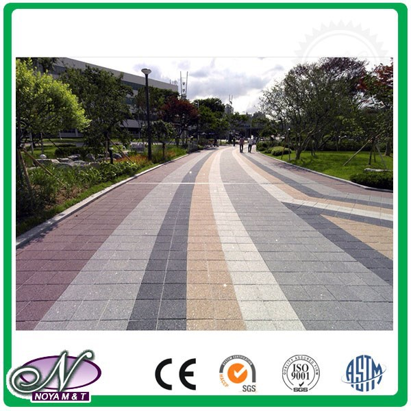 Beauty nature slip-proof cheap garden paving made from water permeable ceramic brick