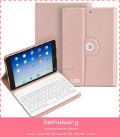 Hot New Products wireless tablet bluetooth keyboard case for mini1/2/3