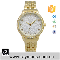 Alloy fashion lady wrist watch china factory derict sell quartz watches japan movt women