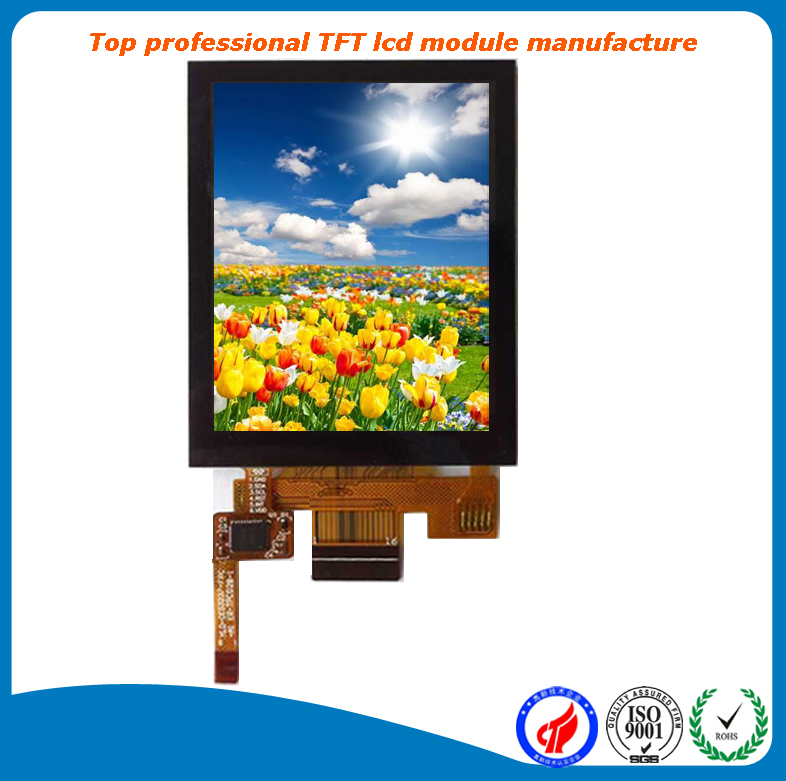 QVGA 240x320 resistive touch screen 2.8 inch tft lcd display