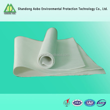 PPS with PTFE needle punched non-woven filter felt/PPS filter media