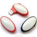 CE,ROHS,FCC best sales colorful oval swivel usb drive 8gb