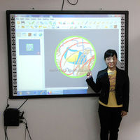 Digital Classroom Electronic Whiteboard Whiteboard Type and No Folded interactive whiteboard
