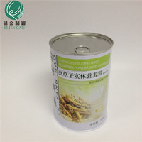 Can factory wholesale sales of household medical nutrition health food tins iron pot tin health tea tins