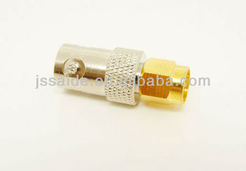 SMA male to BNC female adapter coaxial RF connector