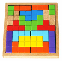 customized tetris maze game wooden educational toy
