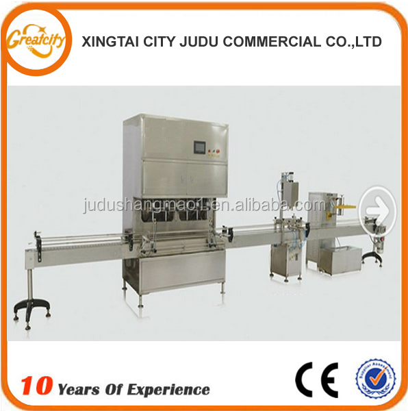 sunflower oil production line/olive oil production line/doubel heads oil filling machine
