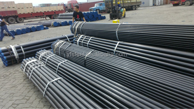 "4"" Welded Steel Pipe Class B, plain ends, conforming to BS 1387/1985, 5.8 Mtr Long"