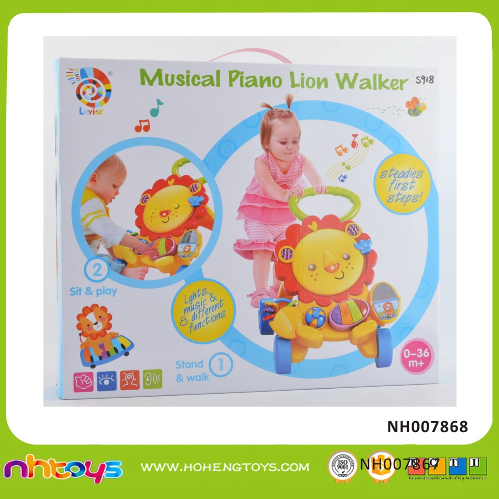 Music piano lion walker