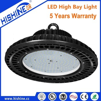 Warehouse UFO Led Highbay 150W UFO Led High Bay Light With Meanwell Driver, DLC UL Listed