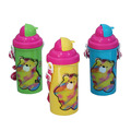 PP plastic water bottle with strap easy to take