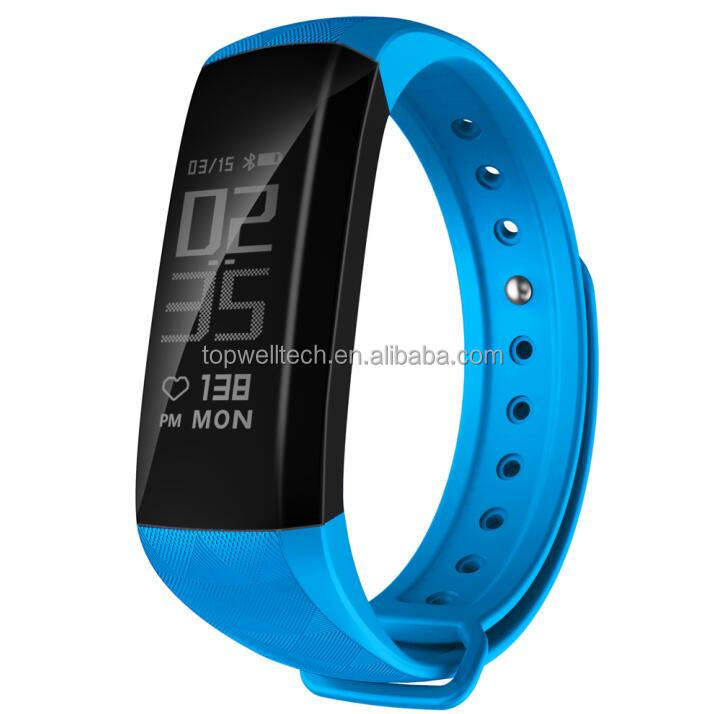 Waterproof Sleep Activity Fitness Smart Bracelet Wearable Activity Tracker With Heart Rate