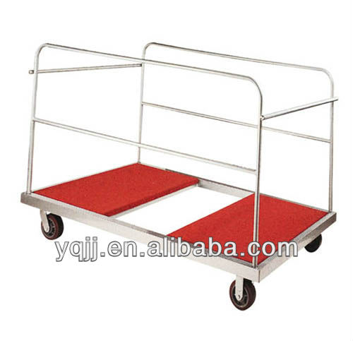 hotel housekeeping room service trolley for 12 tables