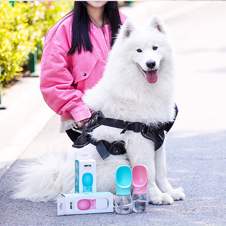 Feeder manufacturer custom private label portable dog water bottle for pet travel outdoor healthy