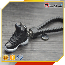 3D Air Jordan XI 11 Space Jam Black Blue Sneakers Shoes Keychain