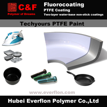 PTFE two-layer water-base non-stick coatings