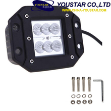 Factory Directly! Car Auto Parts 3inch portable 12v super bright waterproof 18w led work light
