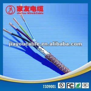 double screens rubber insulation rubber sheath cable