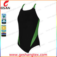 Competition sexy 2014 one piece girl swimsuit